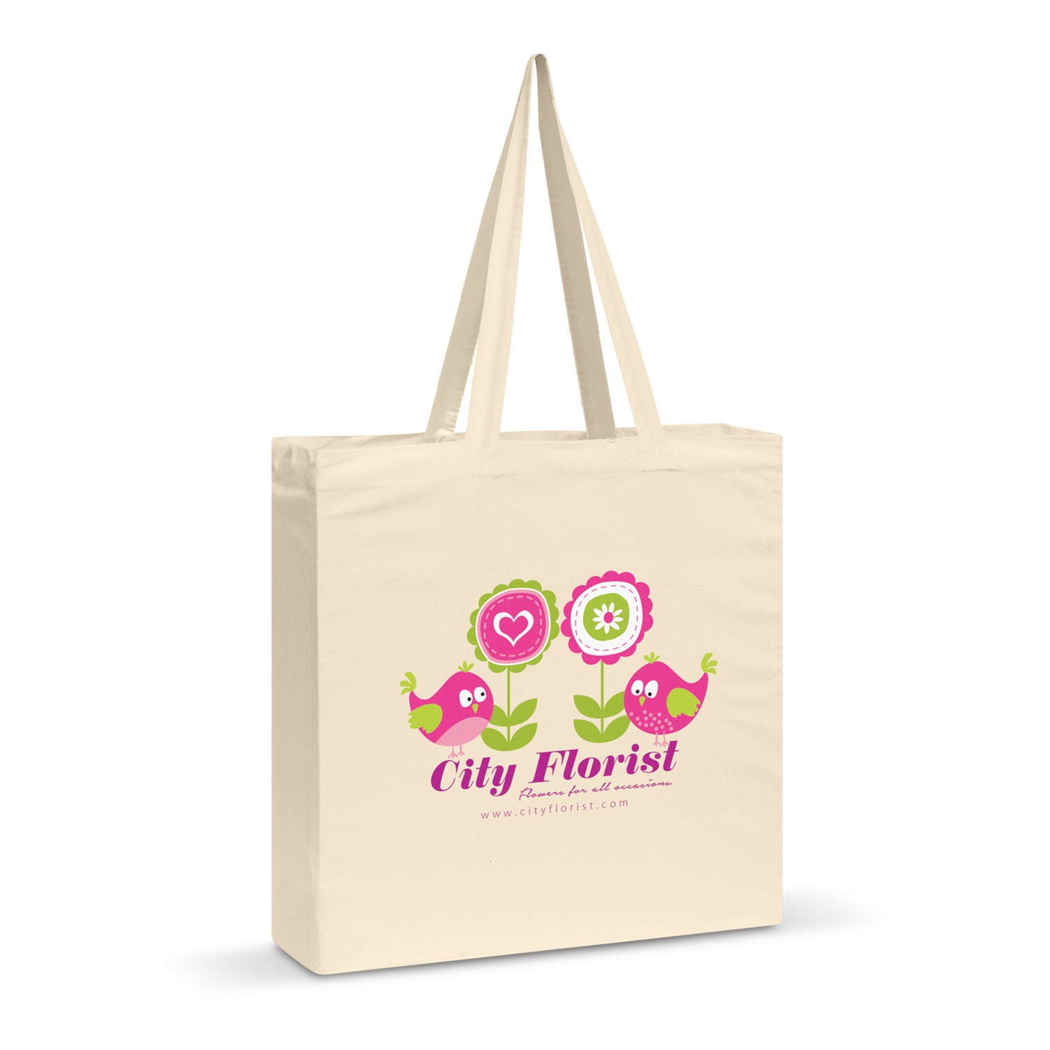 Carnaby Cotton Shoulder Tote custom branded-30