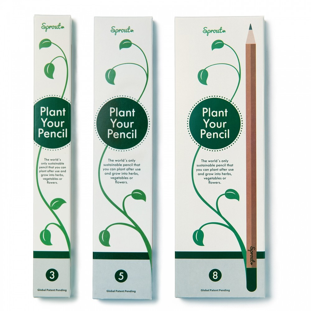 Sprout Pencil custom branded-33