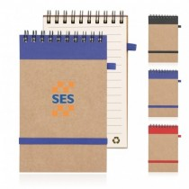 Eco Notepad Recycled Paper Spiral Bound custom branded-21