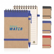 Eco Notepad Recycled Paper Spiral Bound With Z244 custom branded-21