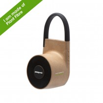 Tuba Wireless outdoor speaker in Plant Fibre custom branded-21