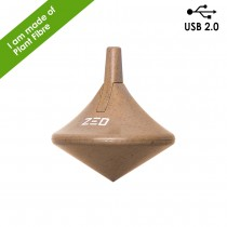 Twista USB 2.0 Memory Drive in Plant Fibre 8GB custom branded-21