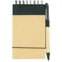 A6 Eco Notepad custom branded-21