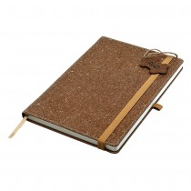 Bonded Leather A5 Notebook custom branded-20