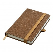 Bonded Leather A6 Notebook custom branded-20