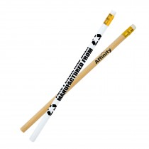 Rubber Tipped Newspaper Pencil custom branded-20
