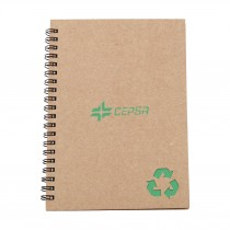 Recycled Stone Paper Notebook custom branded-23