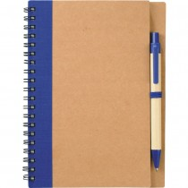 The Eco Spiral Notebook with Pen custom branded-21
