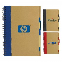 Recycled Paper Notebook custom branded-25