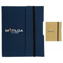 Small Tuck Journal Book custom branded-20