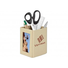 Recycled Paper With Photo Frame Pen Holder
