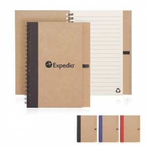 Eco Notebook Recycled Paper Spiral Bound custom branded-21