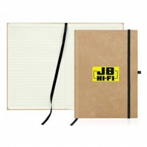 Eco Notebook Recycled Paper Journal custom branded-22