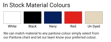 In Stock Material Colours